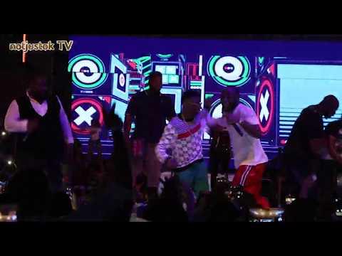 "NotjustOk TV: ""Wizkid Is My New Best Friend"" - Davido Declares As They Perform ""Manya"" Together"