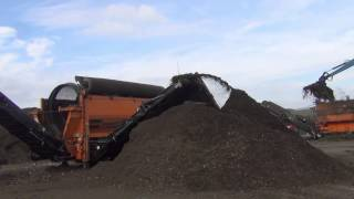 Doppstadt Biomass setup at GP Recycling, Scotland