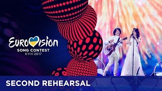 Naviband will represent Belarus at the 2017 Eurovision Song Contest in Kyiv with the song Story Of My Life. This was their second rehearsal. Do you want to f...