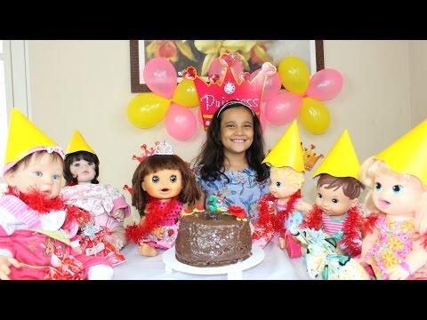 Imagens de feliz aniversário - Festa de Aniversário Baby Alive Carol!