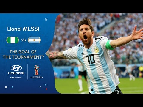 LIONEL MESSI - HYUNDAI GOAL OF THE TOURNAMENT - NOMINEE
