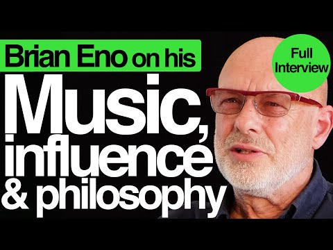 On art, philosophy, and his influence | Brian Eno