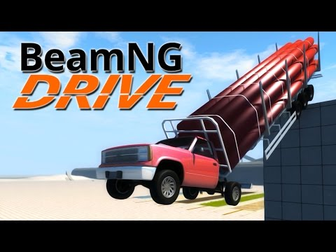 Drive - I decided to try out some trucks in BeamNG.Drive. The result is me being crushed into a pancake ▻Subscribe for more great content : http://bit.ly/11KwHAM Share with your friends and add...