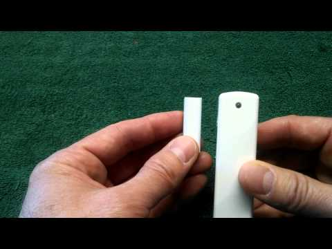 007 Systems Ecolink Z Wave Door Window Sensor Unbox Installation