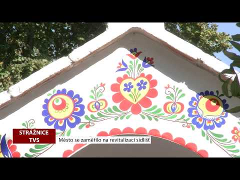 TVS: Strážnice - Město se zaměřilo na revitalizaci sídlišť