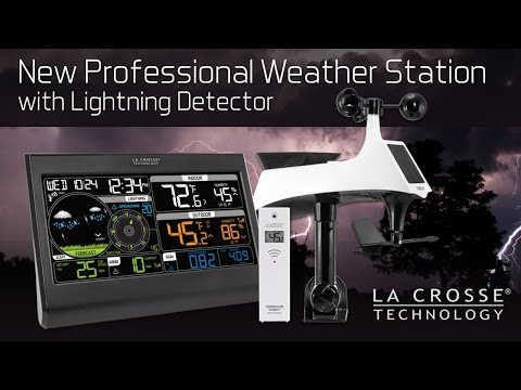 328-2314 Professional Weather Station with Lightning Detector