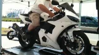 9. 2005 Yamaha R6 Dyno