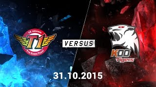 CKTG 2015: SKTelecom T1 vs KOO Tigers (Game 3)