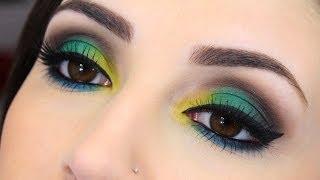 Maquiagem para a Copa do Mundo 2014 - Brasil