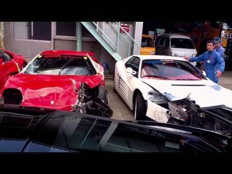 The Most Expensive Car Accident   2011 | Aftermath Video