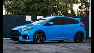 Adaptive KW DDC Coil-Overs and new MOUNTUNE Exhaust on the Focus RS!