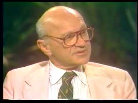 milton friedman - In his book