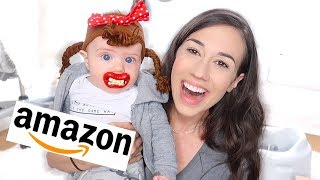 Video TESTING WEIRD AMAZON BABY PRODUCTS! 2 MP3, 3GP, MP4, WEBM, AVI, FLV Juli 2019