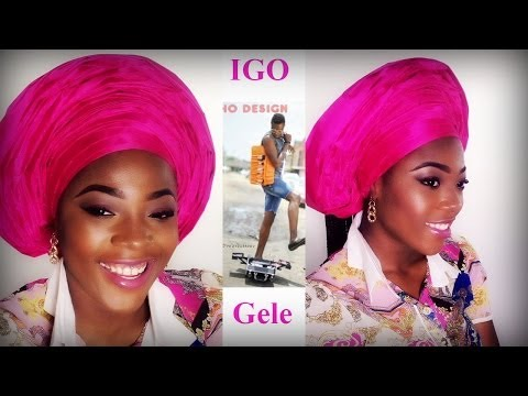 Igo Shows How to Tie a Gele