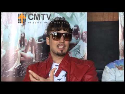 Illya Kuryaki and The Valderramas video Entrevista CM 2012 - Hablan sobre su regreso