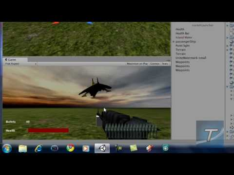 preview-Create a FPS Game in Unity 3D #9 - Adding Physics (TechzoneTV)