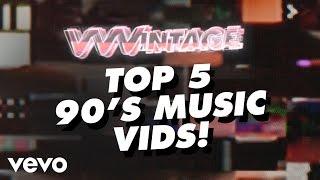 VVVintage - Top 5 90's Music Vids! (ft. TLC, Britney Spears, Backstreet Boys, Christina...