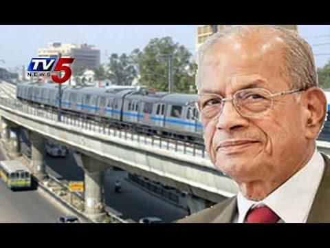 AP Metro Rail Project Advisor | AP Govt to Appointed E Sreedharan : TV5 News