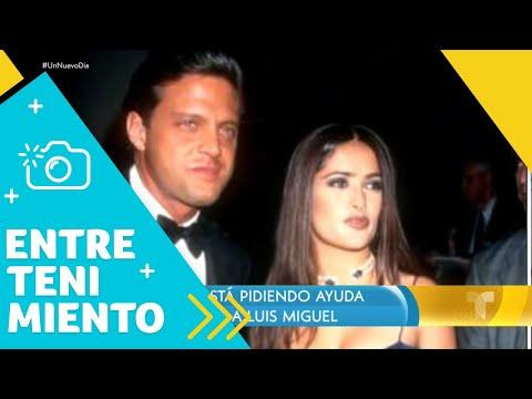 Salma Hayek pide ayuda para localizar a Luis Miguel (VIDEO)