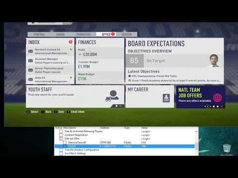 FIFA 18 | How To Change The Job Offers.