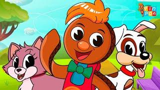 Pin Pon es un muñeco muy guapo y de cartón. Video en dibujos animados, Video de Música infantil, Canciones y rondas para...