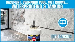 Cementitious waterproofing product for basements swimming pool garages reservoirs basins