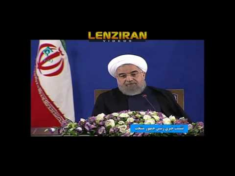 Hassan Rouhani comment about house arrest of Mousavi & Karoubi in yesterday press conference (видео)