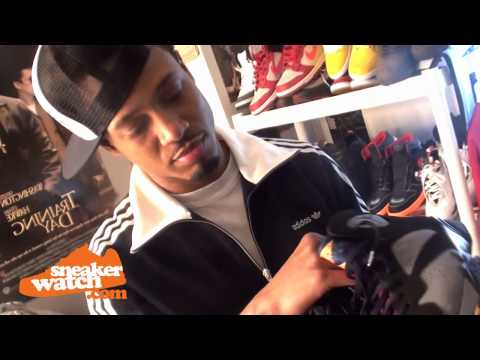 0 Collections: Terrence J Shows Off His Sneaker Dressing Room
