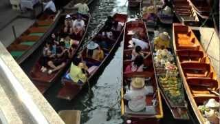 Damnoen Saduak Floating Market In Bangkok Thailand Tour