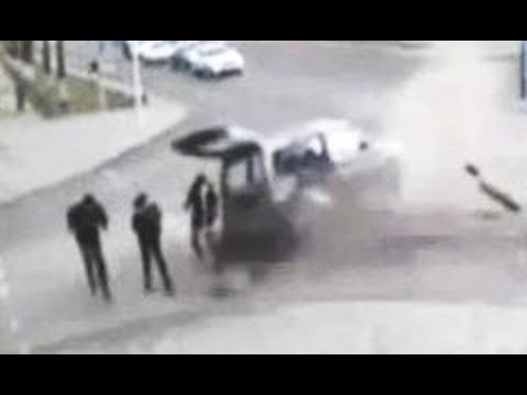 near death experience – car crash misses girl by an inch