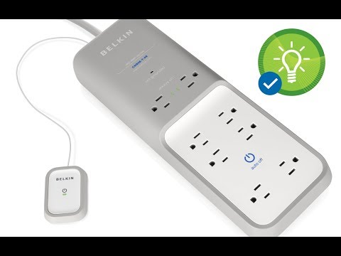 Belkin surge protector for PC Smart auto off switch