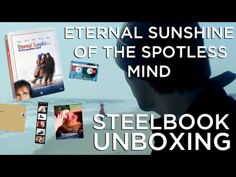 Eternal Sunshine Of The Spotless Mind SteelBook Unboxing!