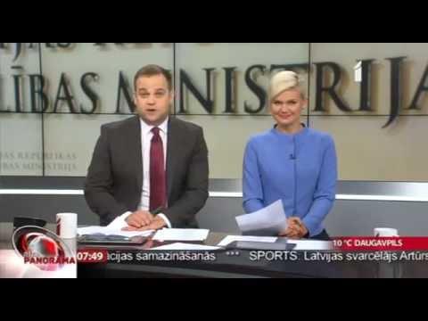 """Veselības ministres Andas Čakšas intervija LTV """"Rīta Panorāma"""""""