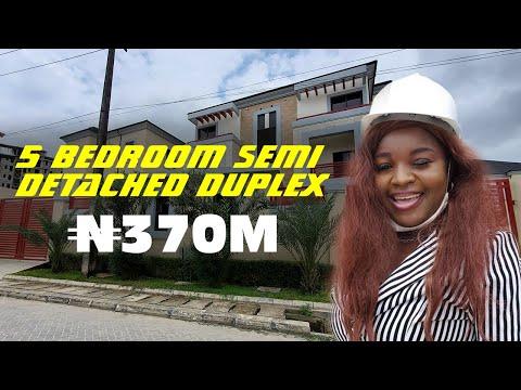 Inside ₦370M [$973, 600] 5 Bedroom Semi Detached Duplex At #BananaIsland in Lagos, Nigeria