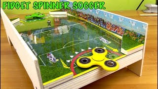 Video Fidget Hand spinner Soccer game - INCREDIBLE GAME with spinner? MP3, 3GP, MP4, WEBM, AVI, FLV Mei 2017
