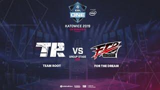 Team Root vs FTD, ESL One Katowice, CN Qualifier, bo3, game 2 [Adekvat & Lost]