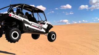 8. TMW takes the new Polaris RZR 900 XP 4 to Glamis (PART 3 of 4)