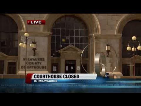 Judges see Milwaukee courthouse damage, hope to get back in chambers soon