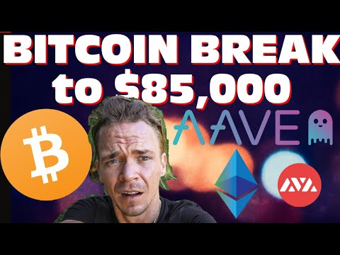 Bitcoin Break to $85,000 Next?! Vechain- Polakadot - Litecoin  AAVE & Avalanche