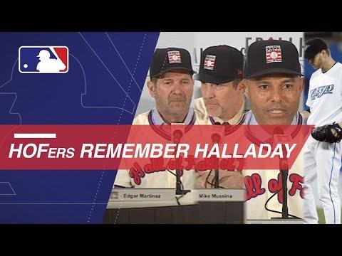 Video: Mariano Rivera, Mike Mussina, Edgar Martinez remember Roy Halladay