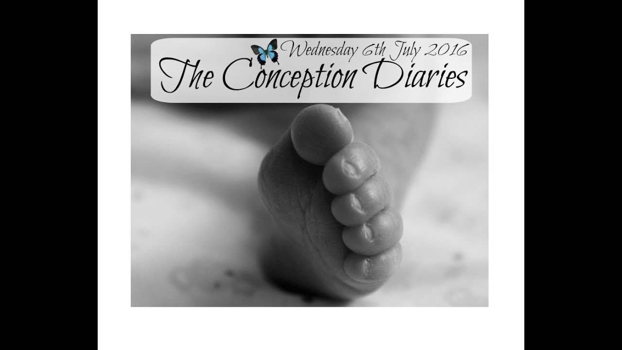 The Conception Diaries 6th July 2016