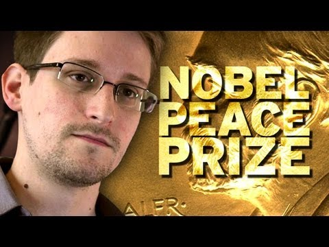 Nobel Peace Prize Nom for Edward Snowden