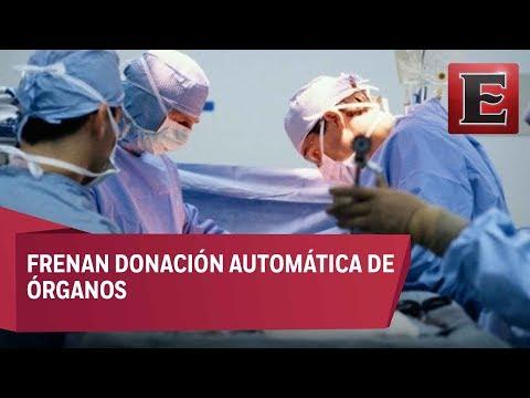 Médicos rechazan donación automática de órganos