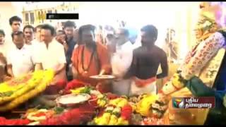 Leaders pay homage to Pasumpon Muthuramalinga Thevar on his 107th birth anniversary