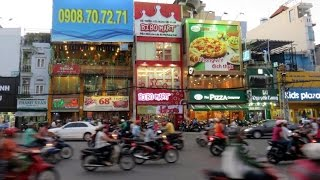 VIETNAM Part 1:After enjoying Northern Thailand, Colin and I fly to Ho Chi Minh City. We sample the mad traffic, the sights, the sounds, the smells and the juxtaposition of old and modern. In Part 2, we hire some mopeds and drive south to the coast.