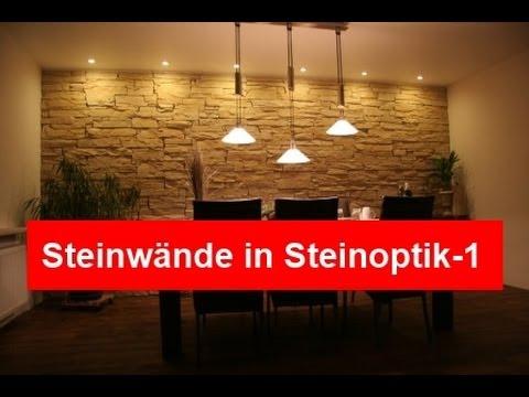 Naturstein In Der Kuche Steinoptik Fur Kreative Wandgestaltung