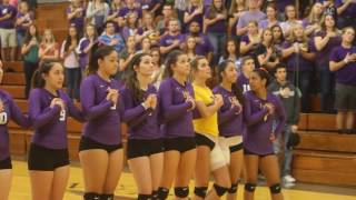 Hoisington United States  City pictures : National Anthem at EAC volleyball