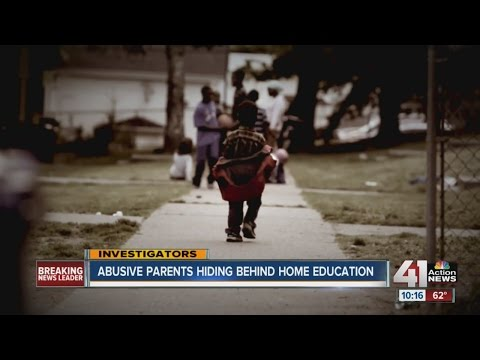 Abusive parents can hide behind home education (видео)