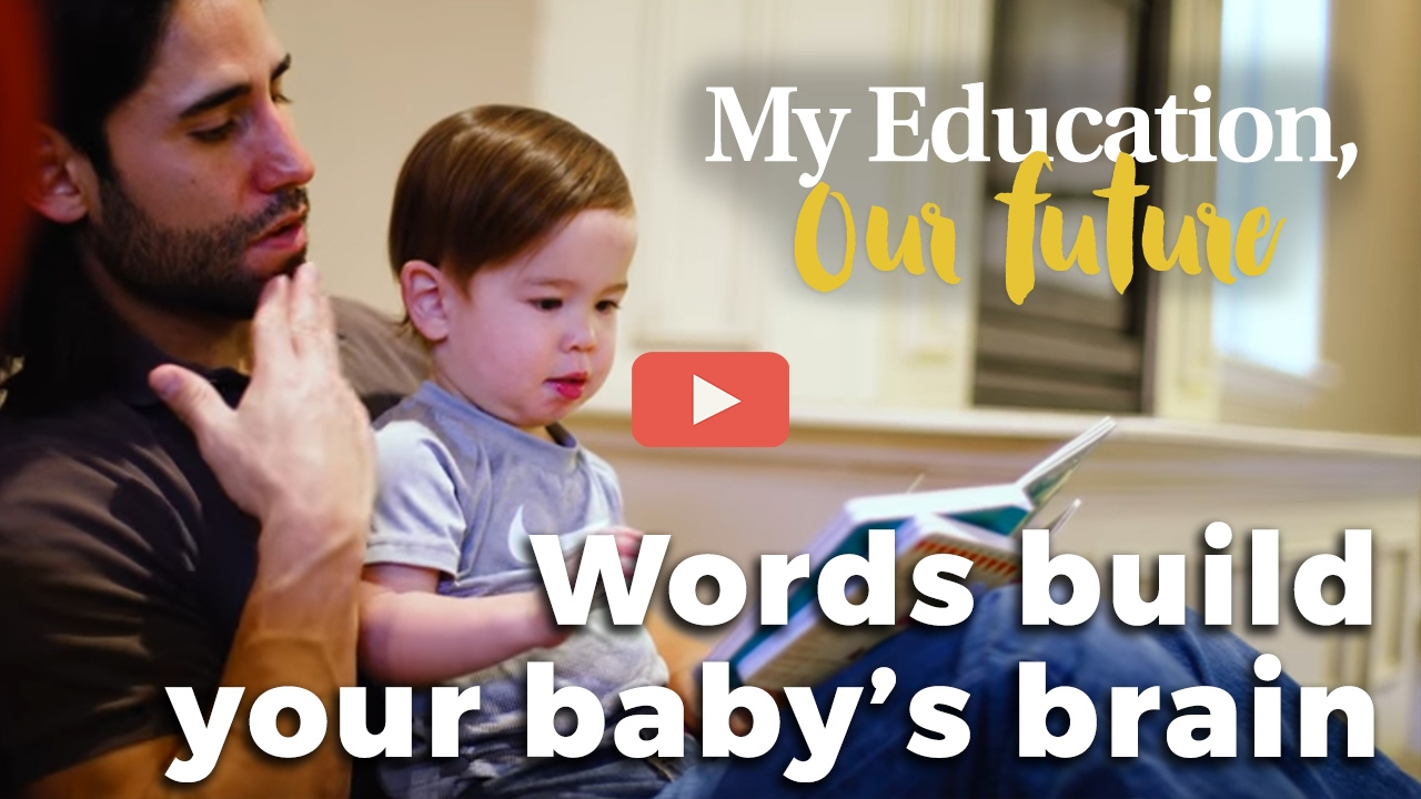"""Talk to Your Babies — The Foundation for Learning"""