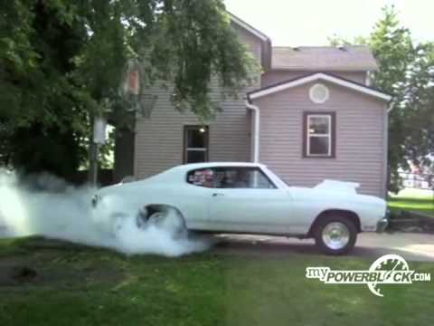 myPowerBlock: 1970 Chevelle Burnout